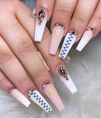 70 long nails designs which last a long