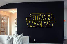 Amazon Com Star Wars Logo Decal Sticker Atat Death Star Storm Trooper Yoda Wall Art Wall Decals Wall Stickers Tr306 Home Kitchen