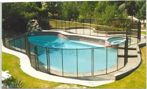 Design Pool Safety Fence Ideas Installing Pool Safety Fence Around With Cool And Beautiful Design Swimming Pool With Fence Surrounding Decor