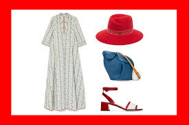 styling for the weekend with red blue