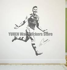 Alexis Sanchez Wall Decal Sticker Fc Arsenal Football Soccer Player Chile Soccer Player Wall Decals Stickersdecal Sticker Aliexpress