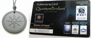 scalar energy quantum pendant scalar