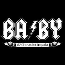 4 X4 Baby Vinyl Window Decal Supernatural Art Supernatural Fan Art Jared Supernatural