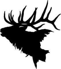 Elk Head Decal Stod 2 Vinyl Truck Window Stickers Ebay