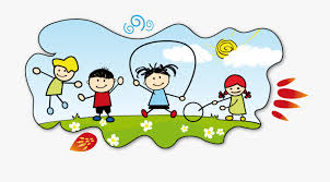 Children Fun Clipart Kids Join Activities Clipart Black - Healthy ...