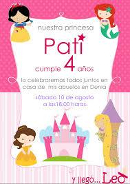 Invitaciones Cumpleanos Princesas Para Pantalla Hd 2 Fondosmovil Net