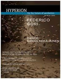 Hyperion: On the Future of Aesthetics, Vol. 12, No. 1 (2019) by ...
