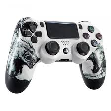 Customized Wolf Soul Front Shell For Playstation 4 Pro Slim Controller Gamingcobra