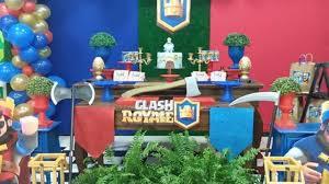 Fiesta Tematica De Clash Royale Como Decorar Una Fiesta Infantil