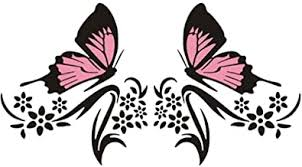 Amazon Com Flower Decals For Car
