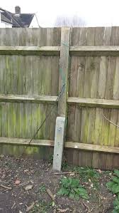 To Fix A Broken Fence Post With A Concrete Repair Spur Fencing Job In Grove Park South London Mybuilder