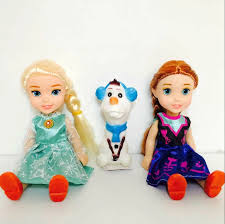 Dihao Mini Đông Lạnh Kawaii Khớp Di Chuyển Nhựa Phim Hoạt Hình Đông Lạnh Búp  Bê Công Chúa Anna & Elsa Olaf Cô Gái Với Đôi Giày Trẻ Em - Buy Mini