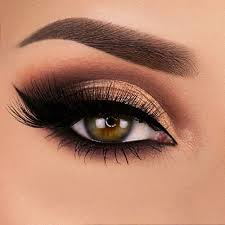 prom makeup for green eyes cat eye makeup