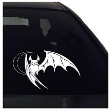 Bat Decal Bat Sticker Car Sticker Window Vinyl Decal Nuovocreations