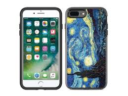 Protective Designer Vinyl Skin Decals Stickers For Otterbox Symmetry Iphone 8 Plus Iphone 7 Plus Case Vincent Van Gogh The Starry Night Design Pattern Only Skins And Not Case By Teleskins Newegg Com