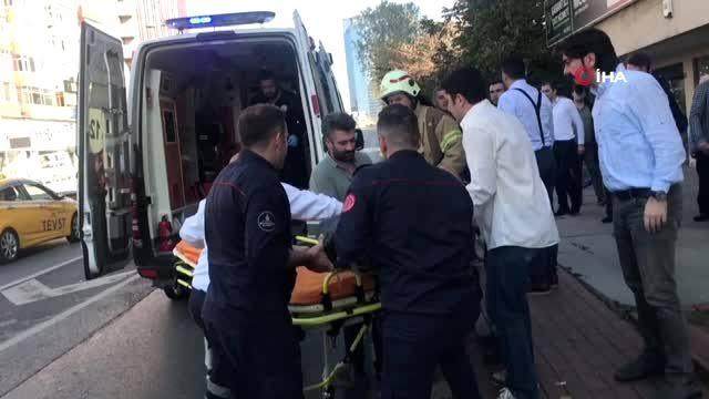 """Beşiktaş'ta şirketinin havalandırma boşluğunda bastığı camın kırılması sonucu 4. kattan aşağıya düşen iş adamının hayatını kaybettiği öğrenildi ile ilgili görsel sonucu"""""""