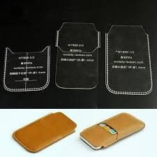 phone case acrylic leather template