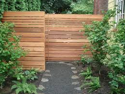 Horizontal Fence Front Garden Design Privacy Fence Designs Fence Design