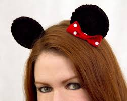 minnie mouse clip on ears look at
