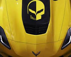 Chevy Corvette Jake Logo Hood Decal Vinyl Sticker C5 C6 C7 Zo6 Zr1 Z06 Stingray Ebay