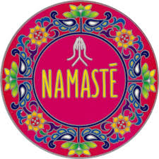 Namaste Mandala Window Sticker Decal Peace Resource Project