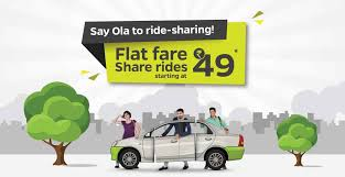 Ola Share Flat Fare Zones |