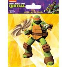 Licensed Teenage Mutant Ninja Turtles Michael Angelo 4 By 5 25 Auto Car Window Sticker Decal