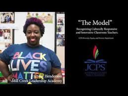 """JCPS Diversity, Equity, and Poverty Programs: JCPS Envision Equity """"The  Model"""" Janelle Henderson- Mill Creek Leadership Academy"""