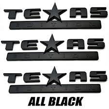 Mr Brighton Led 3 Count Silver Black American Flag 3d Texas Edition Emblem For Chevy Silverado Sierra Car Truck Auto Universal Decal Bumper Stickers Decals Magnets
