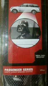 Star Wars Darth Vader Passenger Series Perforated Window Decal For Sale Online Ebay