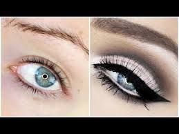 cut crease makeup tutorial for hooded