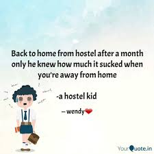 back to home from hostel quotes writings by parul pandey
