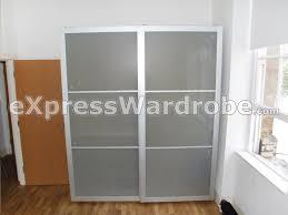 how to install ikea sliding wardrobe doors