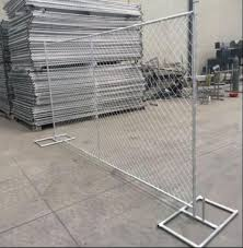 China Cheap Price 10ft Chain Link Fencing Temporary Wire Mesh Fence Panel China Fencing Wire Fence