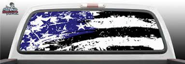 American Flag Distressed 2 Rust Rear Window Decal Graphic For Truck Suv Auto Parts And Vehicles Car Truck Graphics Decals Magenta Cl