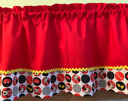 Minnie Mouse Valance Etsy