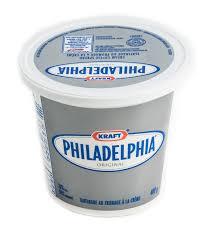 philadelphia cream cheese nutritional