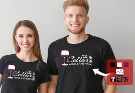 Order Custom Printed T Shirts Embroidery Promotional Branded
