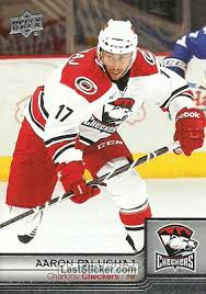 Card 20: Aaron Palushaj - Upper Deck AHL Hockey 2013-2014 - laststicker.com