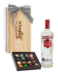 smirnoff vodka chocolates gift box