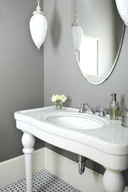oval mirror bathroom with shelf long
