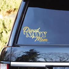 Proud Navy Family Clear Stickers Veterans Nation