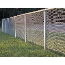 21 Ft L 17 Gauge Galvanized Steel Chain Link Fence Top Rail In The Chain Link Fence Rails Department At Lowes Com