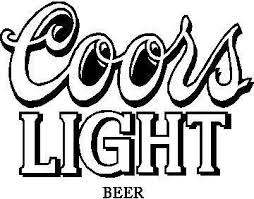 Coors Light Decal Sticker 03