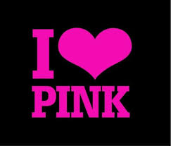 Love Pink Window Decal Sticker Custom Sticker Shop
