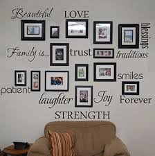 Family Words Wall Decal Set Of 12 Love Trust Blessing Smile Quotes Vinyl Wall Sticker Picture Wall Decal Room Art Decoration Wall Decals Vinyl Wallart Decor Aliexpress