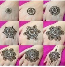 Easy Cute Simple Mehndi Tikka Designs Easy