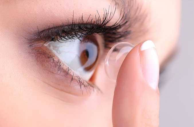 Image result for proper wearing schedule for contact lenses""