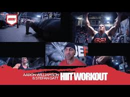 Redcon1 Athlete and Celebrity Trainer Aaron Williamson trains Stefan Gatt!  - YouTube