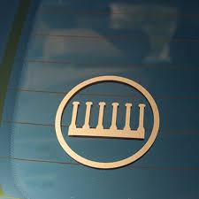 Gold Vinyl Logo Decal Every True Son Apparel